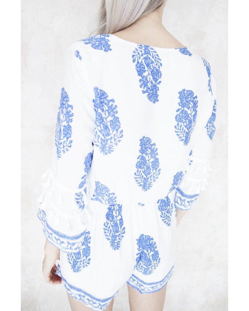LEONOR BLUE - JUMPSUIT