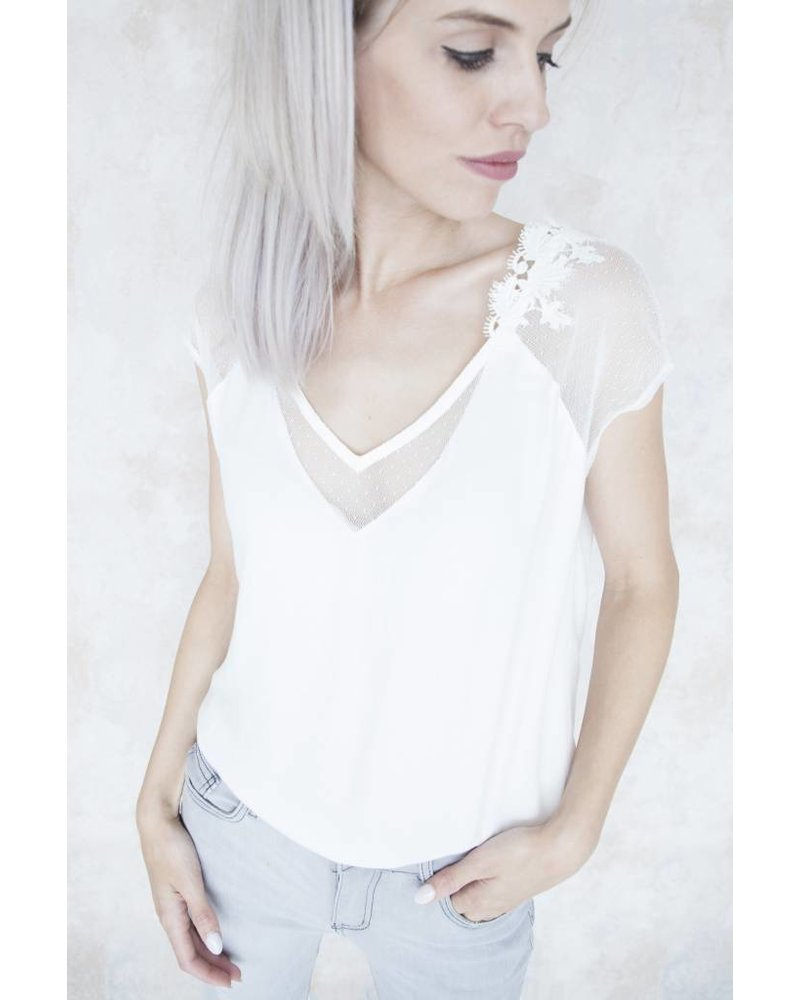 INÊS WHITE - BLOUSE