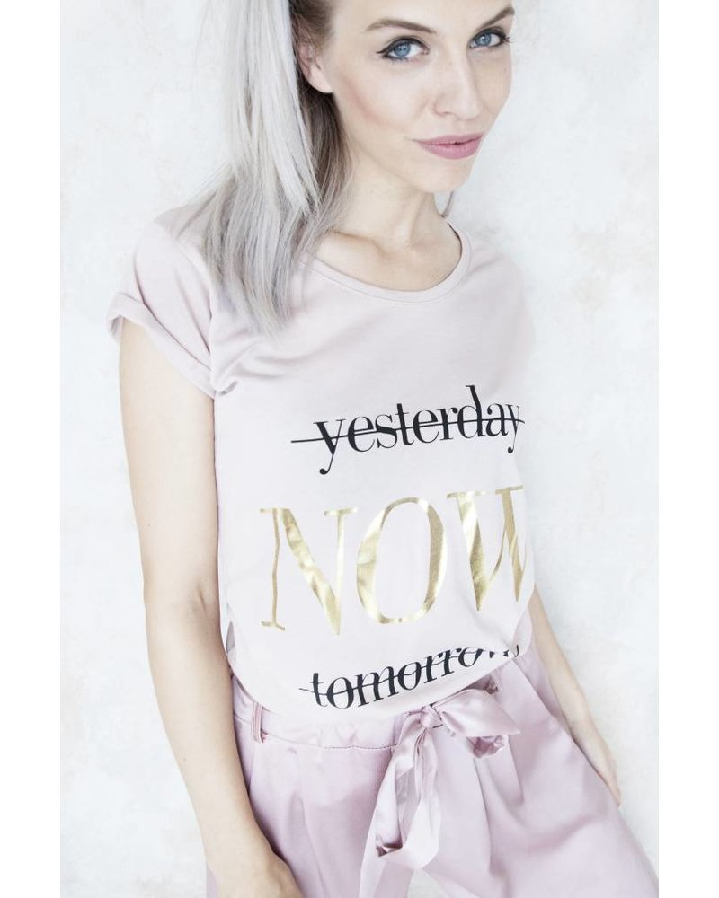NOW PINK - T-SHIRT