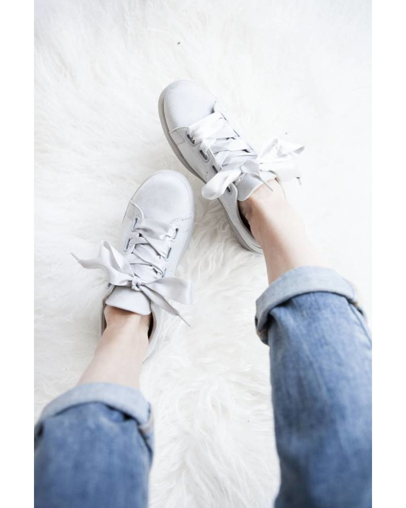 SUEDE HEART GREY - SNEAKERS