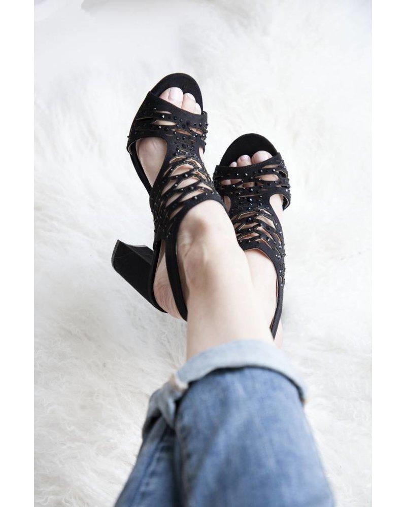 MELINDA BLACK - HEELS
