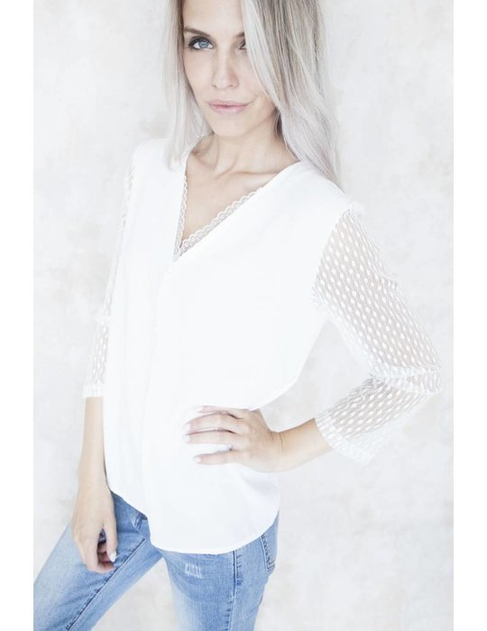 Elle Milla SOPHY LACE WHITE