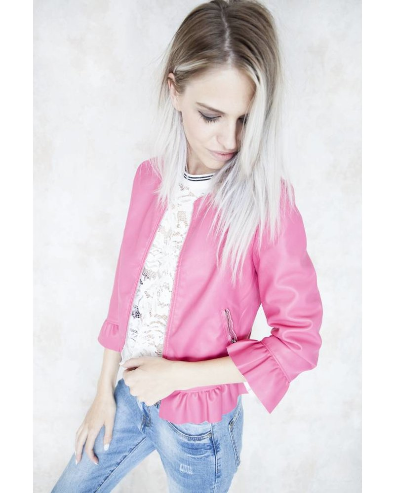 THE CUTE HOT PINK - JACKET