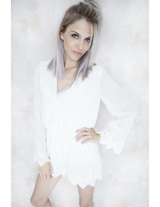 Elle Milla DOMINIQUE WHITE DOTS