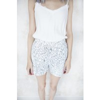 DAISY LACE WHITE - SHORT