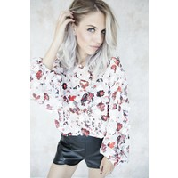 ASTER RED - BLOUSE
