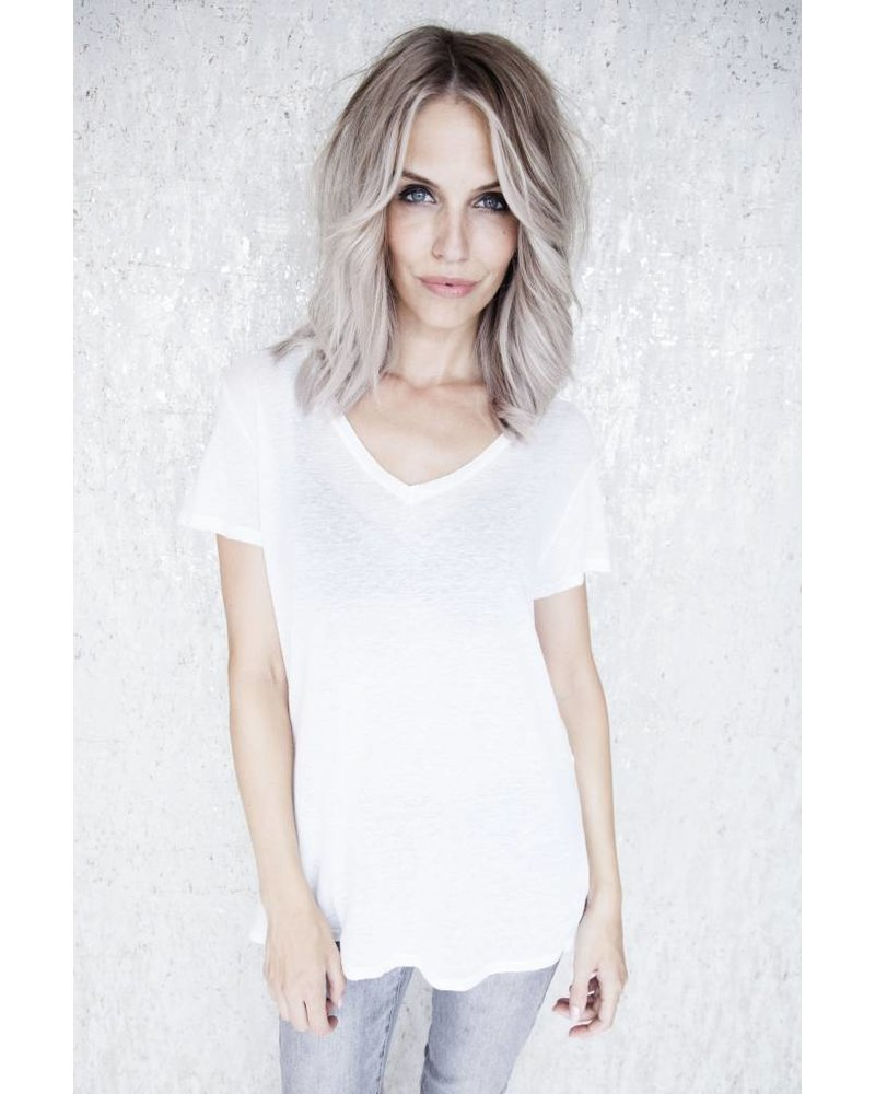 BASIC FADE WHITE - T-SHIRT