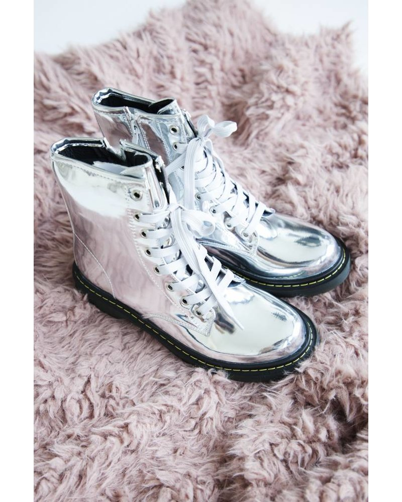 MARTINE SILVER - BOOTS
