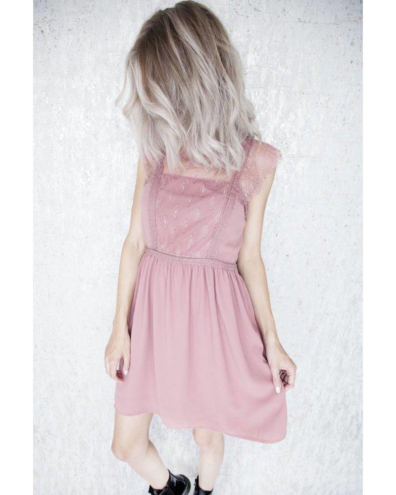 LINDA OLD PINK - DRESS