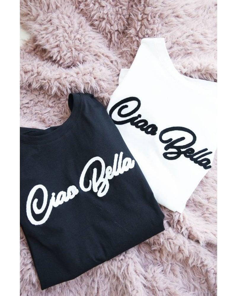 CIAO BELLA BLACK - T-SHIRT