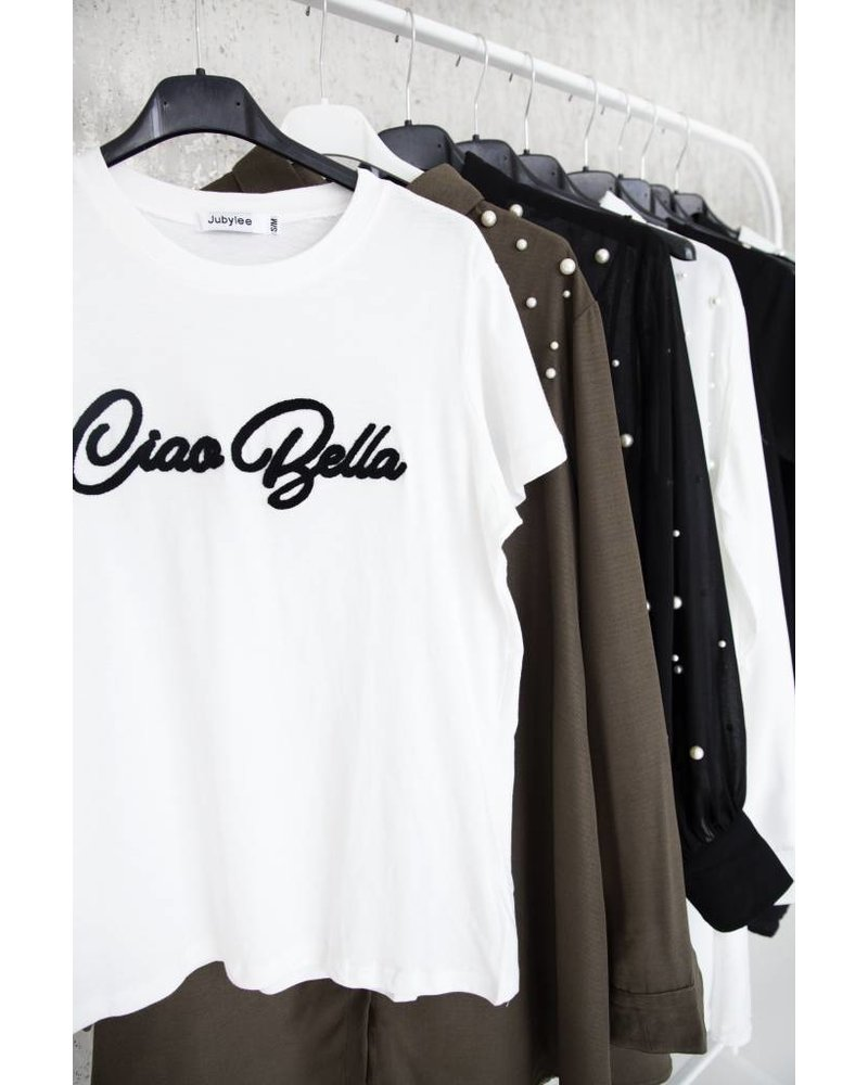 CIAO BELLA WHITE - T-SHIRT