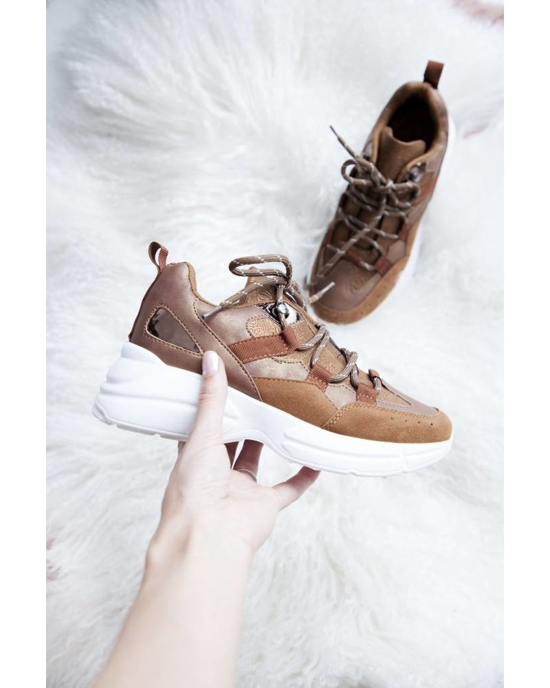 ESTHER CAMEL - SNEAKERS