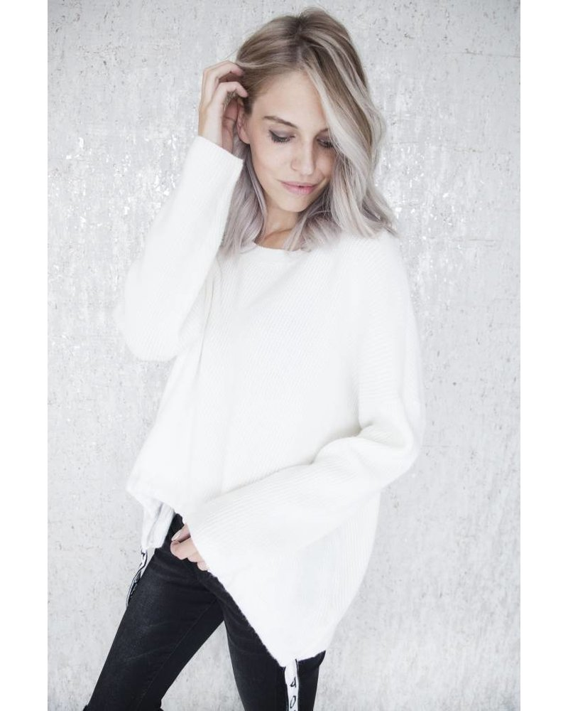 POSITIVITY WHITE - SWEATER