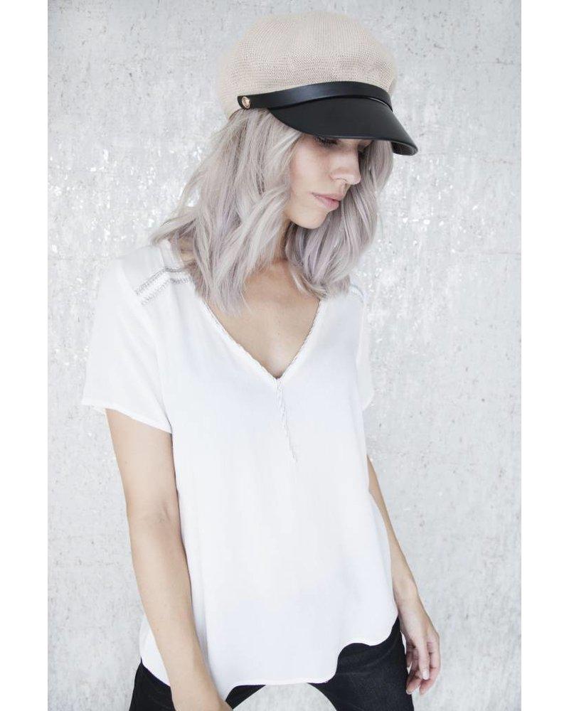 MISSY WHITE - T-SHIRT