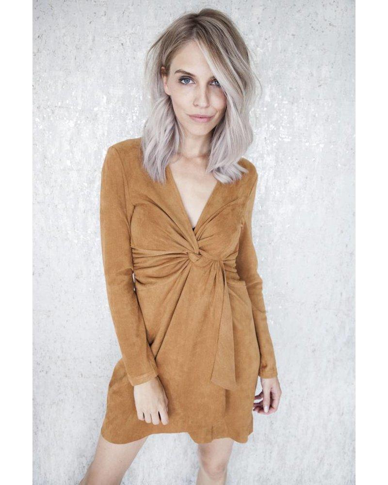 EMELIA CAMEL - DRESS