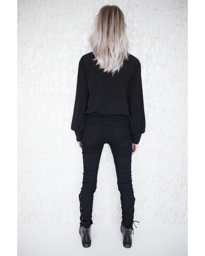 NORA BLACK - BROEK