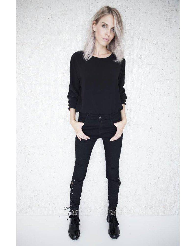 NORA BLACK - PANTS
