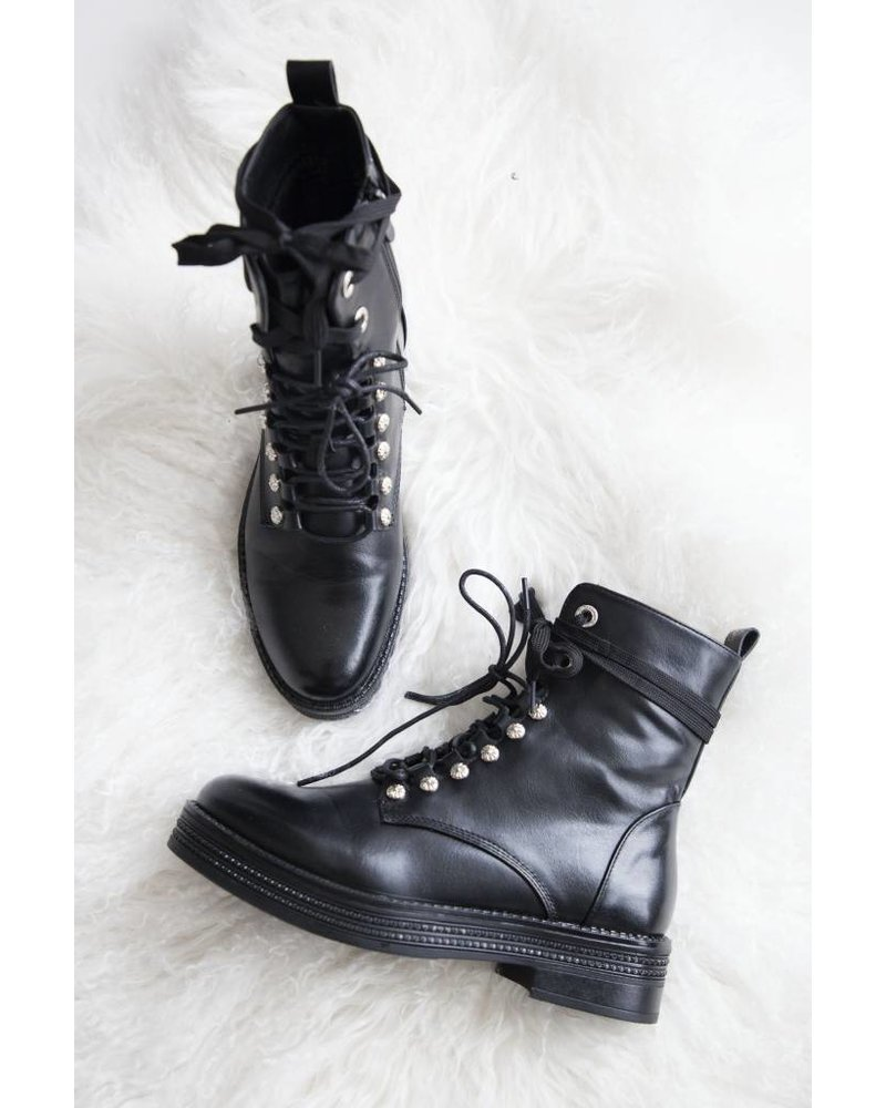 HIGH DONNA BLACK - BOOTS
