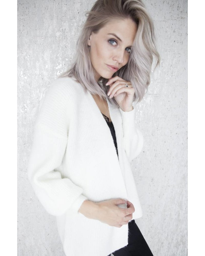 SOFT JAMIE WHITE - GILET