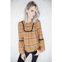 MIRANDA YELLOW - BLOUSE