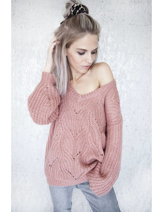 ellemilla MARIE KNIT OLD PINK