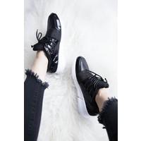 SHINE & SPARKLE BLACK - SNEAKERS