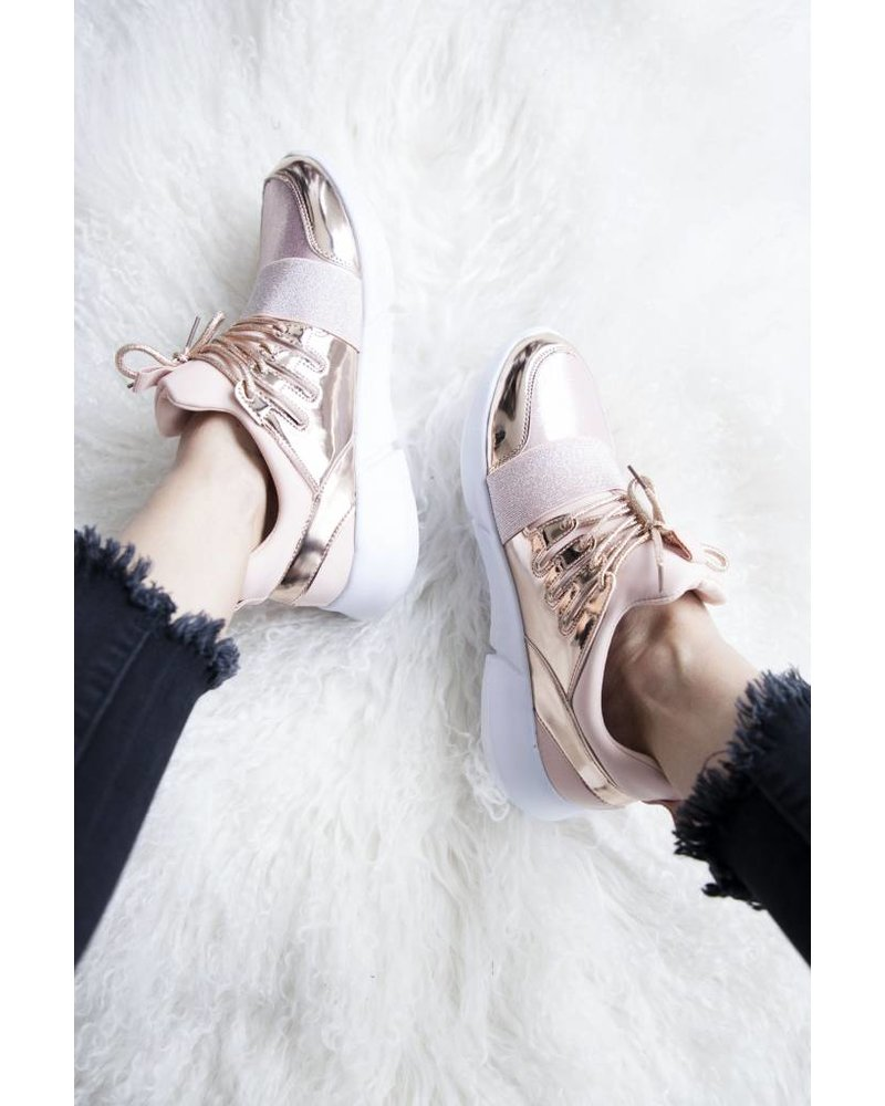 SHINE & SPARKLE PINK - SNEAKERS
