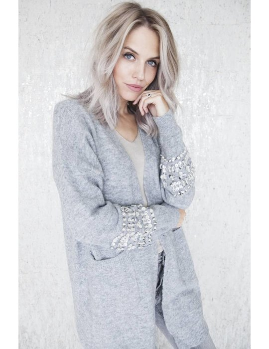 ellemilla LONG COZY & GLITTER GREY