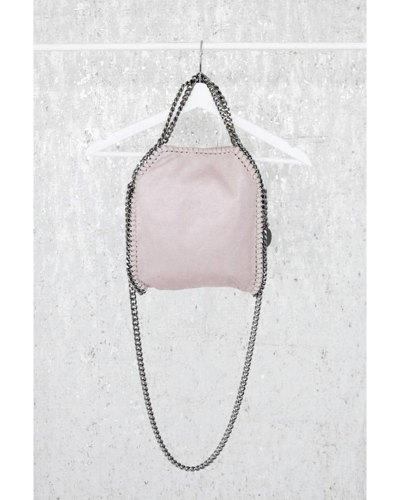 CHAIN BAG SMALL PINK - HANDTAS
