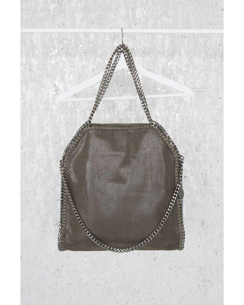 CHAIN BAG XL KAKI - HANDTAS