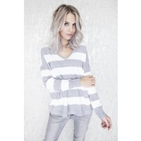 GLITTERS & STRIPES GREY - TRUI