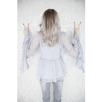 FAIRY GREY - BLOUSE