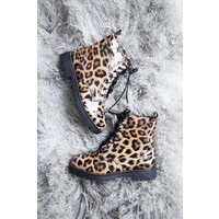 MUSTHAVE LEOPARD - BOOTS