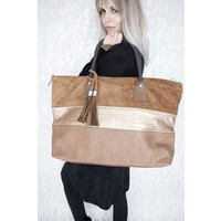 XL STRIPED CAMEL - TAS