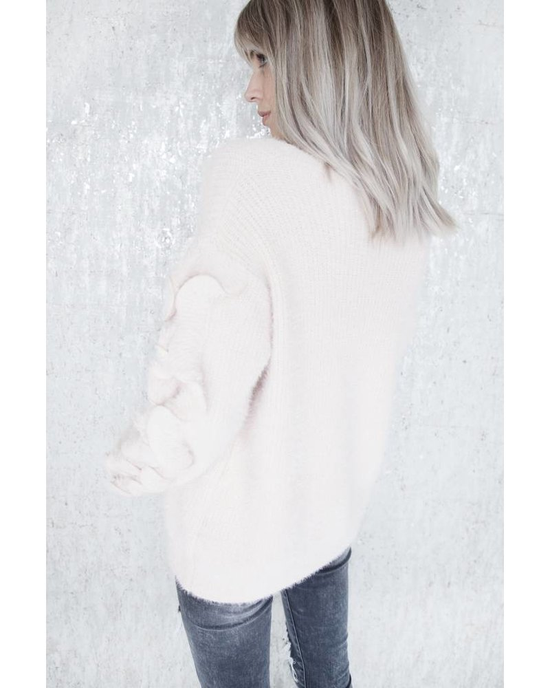 SOFT RUSHES PINK - SWEATER