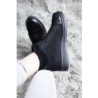 COMFY GLITTER BLACK - SNEAKERS