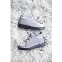 COMFY GLITTER GREY - SNEAKERS