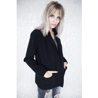 ISABELLA SHORT BLACK - GILET
