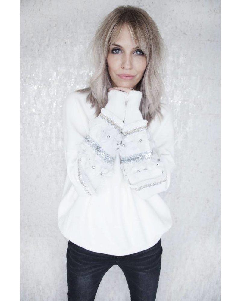 MILOU WHITE - SWEATER