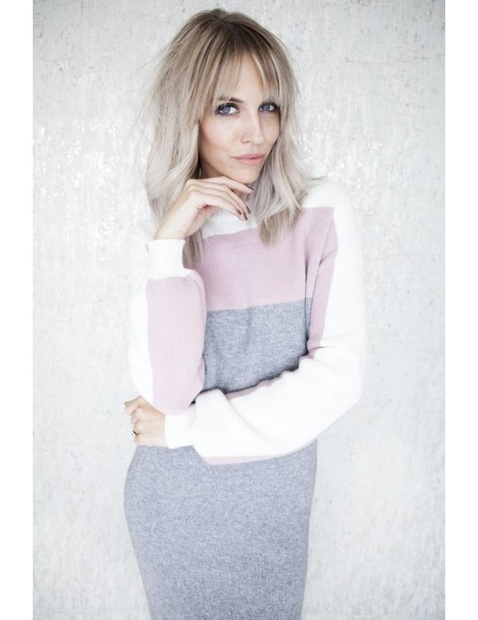 ellemilla COMFY ALL DAY GREY/PINK