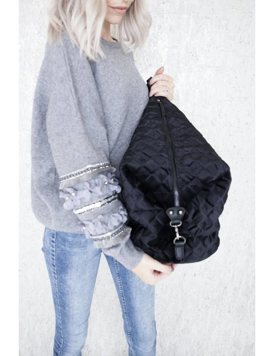 ellemilla THE VELVET BLACK BAG
