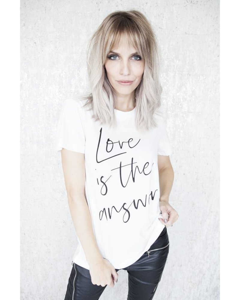 LOVE IS THE ANSWER - T-SHIRT
