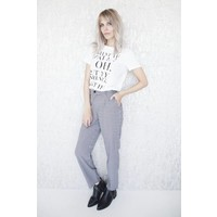 MANON BLACK & WHITE - BROEK