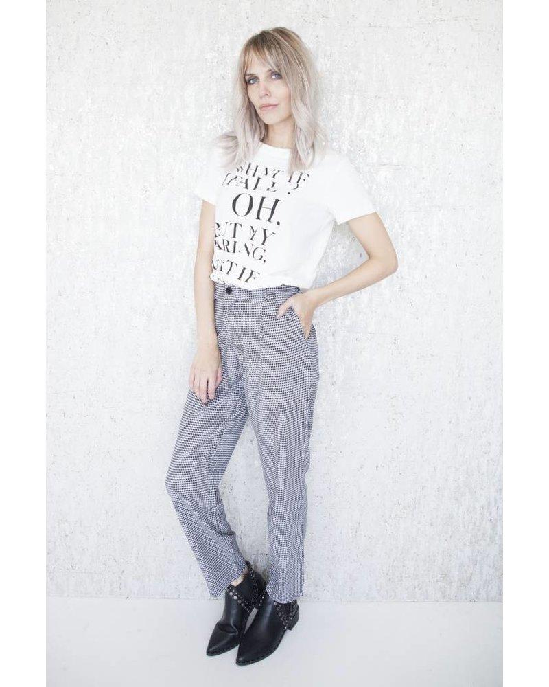 MANON BLACK & WHITE - PANTS