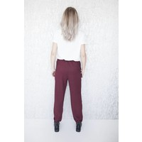 MANON BLACK & RED - PANTS