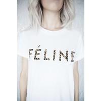 FELINE WHITE - T-SHIRT