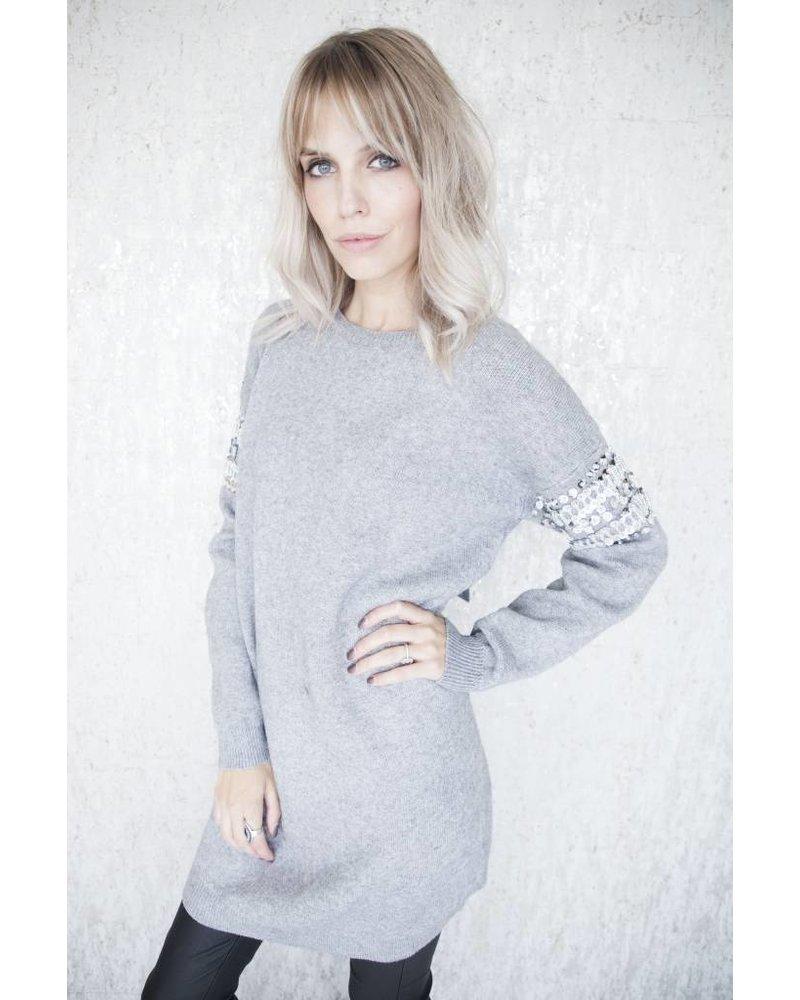 LOONA GREY - SWEATER DRESS