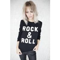 ROCK & ROLL BLACK - SWEATER