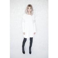 LOONA WHITE - SWEATER DRESS