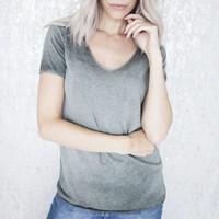 SOFT LINA GREEN - T-SHIRT
